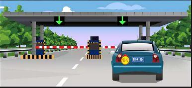 驾驶图中这辆机动车能否进入高速公路行驶。