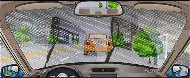 前方车辆有什么违法行为?