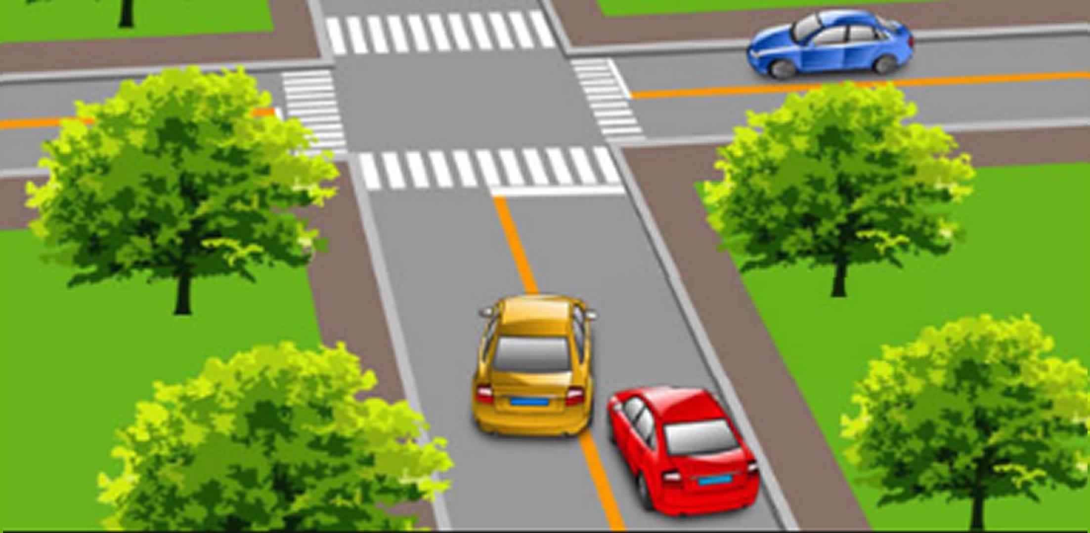 请判断一下图中这辆黄色小型客车有几种违法行为?