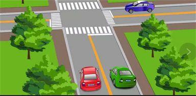 图中红色车辆的这种违法行为会被记多少分?