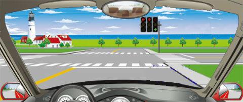 遇到图中这种情况,哪种驾驶行为是正解的?