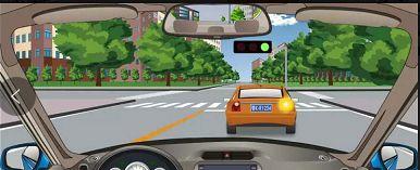 前方车辆开启转向灯表示要如何行驶?