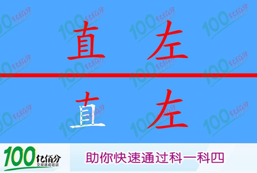 立体交叉处这个标志提示什么?