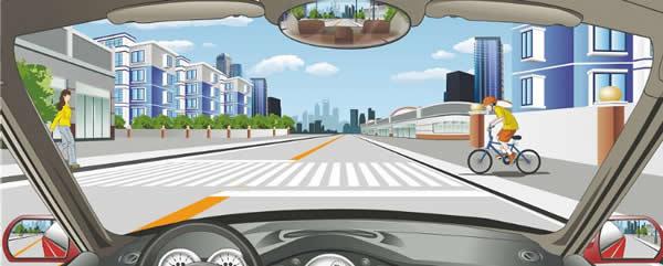 驾驶机动车遇到这种情况怎样应对?