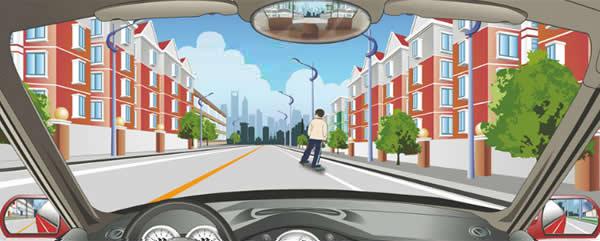 驾驶机动车看到这样的儿童怎样行驶?