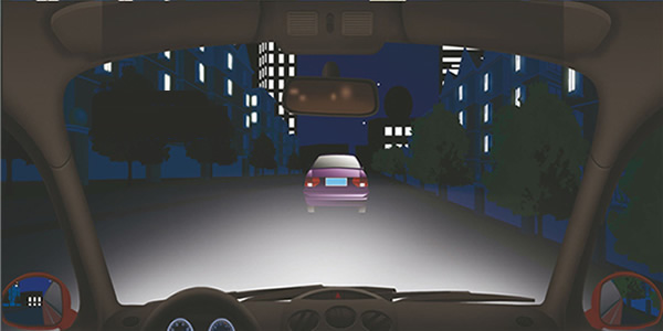 夜间驾驶机动车遇到这种情况怎样超车?