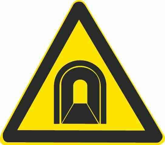 这个标志的含义是提醒车辆驾驶人前方是单向行驶并且照明不好的涵洞。