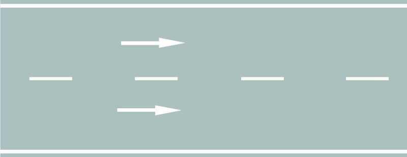 路中白色虚线是什么标线?
