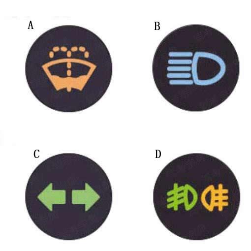 为提示车辆和行人注意,雾天必须开启哪个灯?