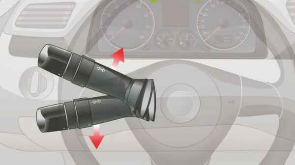 提拉这个开关控制机动车哪个部位?