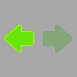 打开右转向灯开关,(如图所示)亮起。