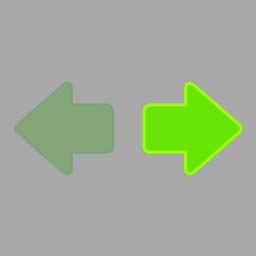 打开左转向灯开关,(如图所示)亮起。