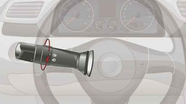 旋转开关这一档控制机动车哪个部位?