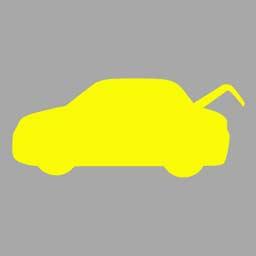 机动车仪表板上(如图所示)亮,提示发动机舱开启。