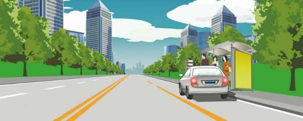 这样停放机动车有什么违法行为?